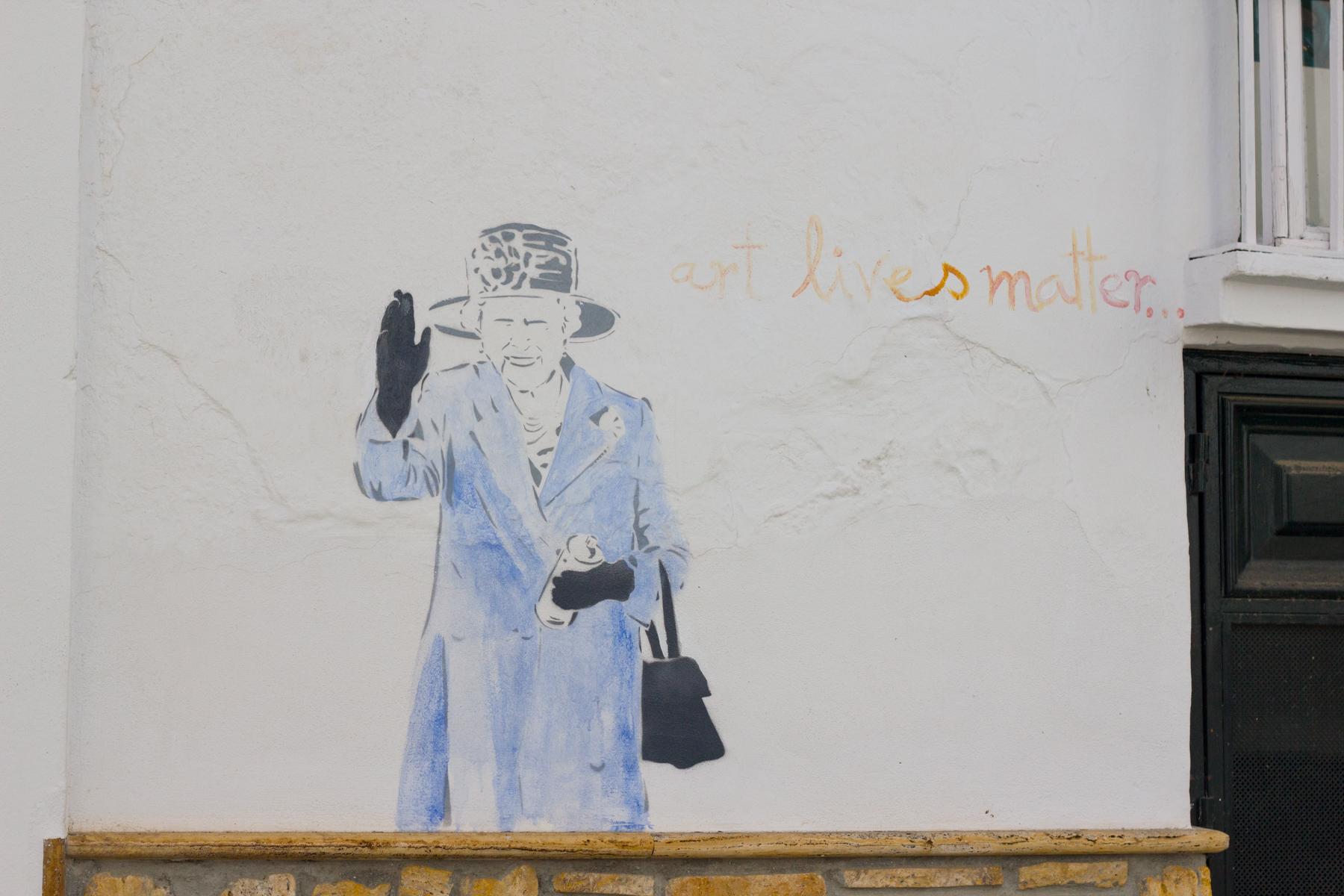 Street art in Competa