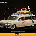 你家的魔鬼剋星們總算能開車出門抓鬼啦!!Blitzway 魔鬼剋星【ECTO-1 抓鬼車】ECTO-1 Vehicle 1/6 比例作品