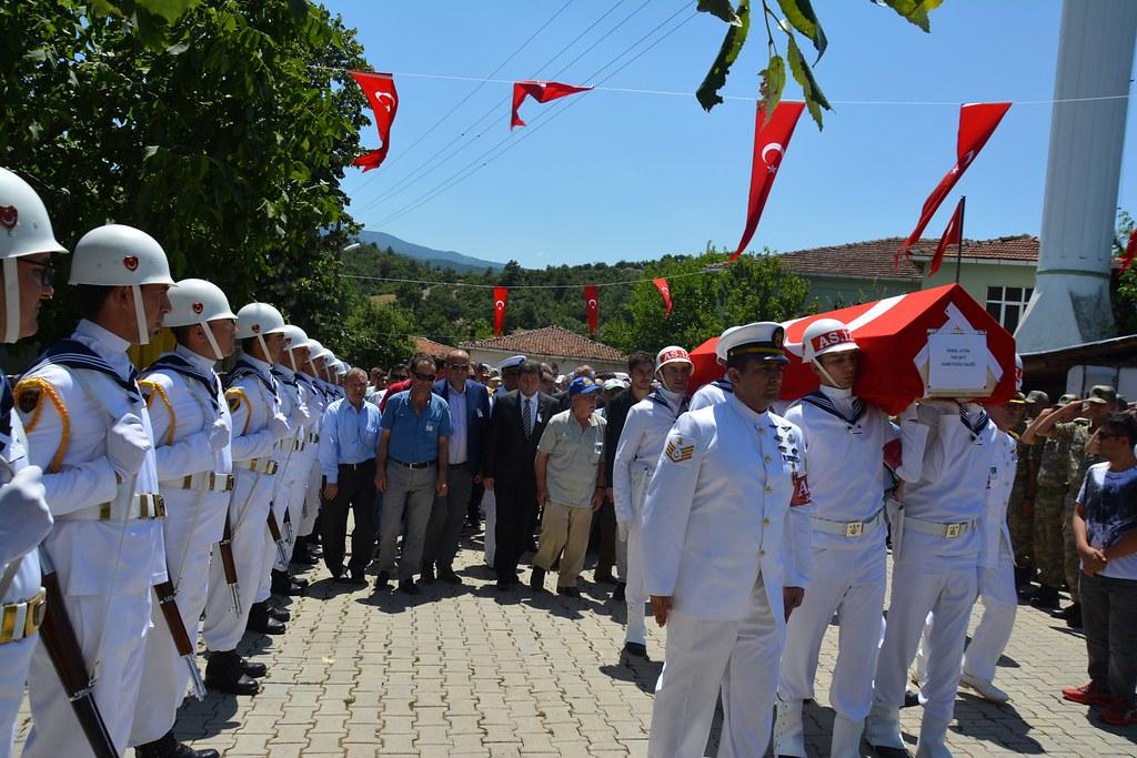 Gazi Kemal Aydın, Son Yolculuğuna Uğurlandı (11)