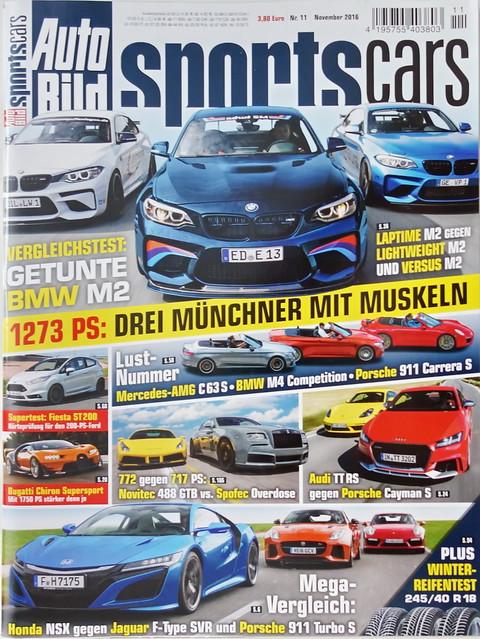 Auto Bild Sportscars 11/2016