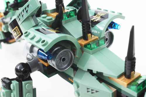 The LEGO Ninjago Movie Green Ninja Mech Dragon (70612)
