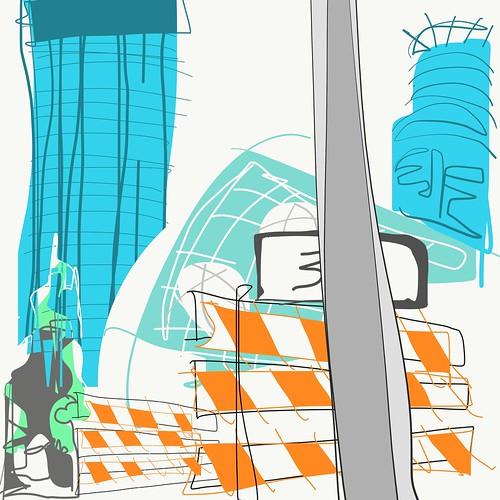 #NicolletMall #Minneapolis #Minnesota #illustration