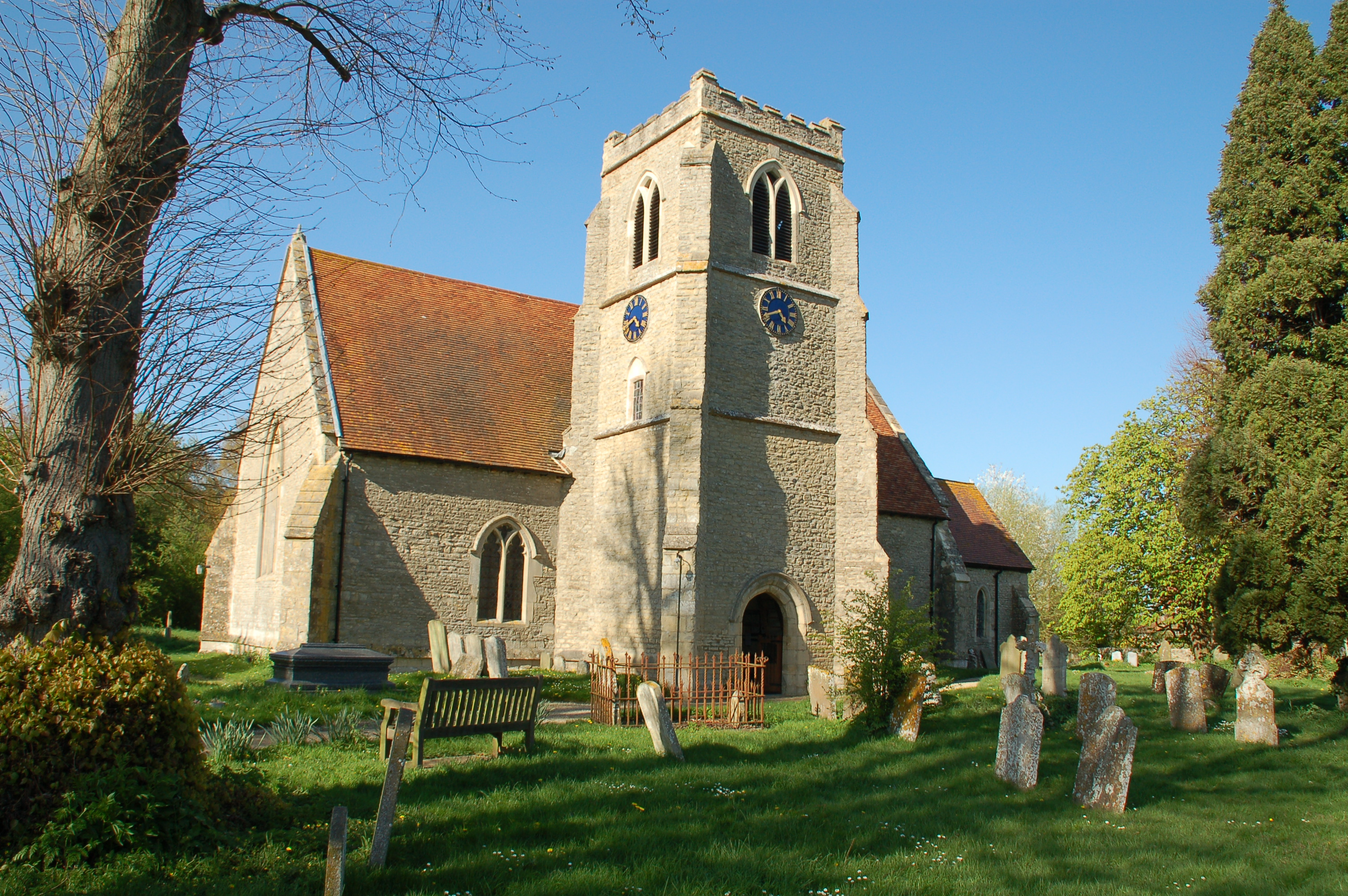 Oxfordshire, TOWERSEY, St Catherine