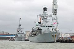'HMS Westminster' + 'HMS Iron Duke' 28th July 2017