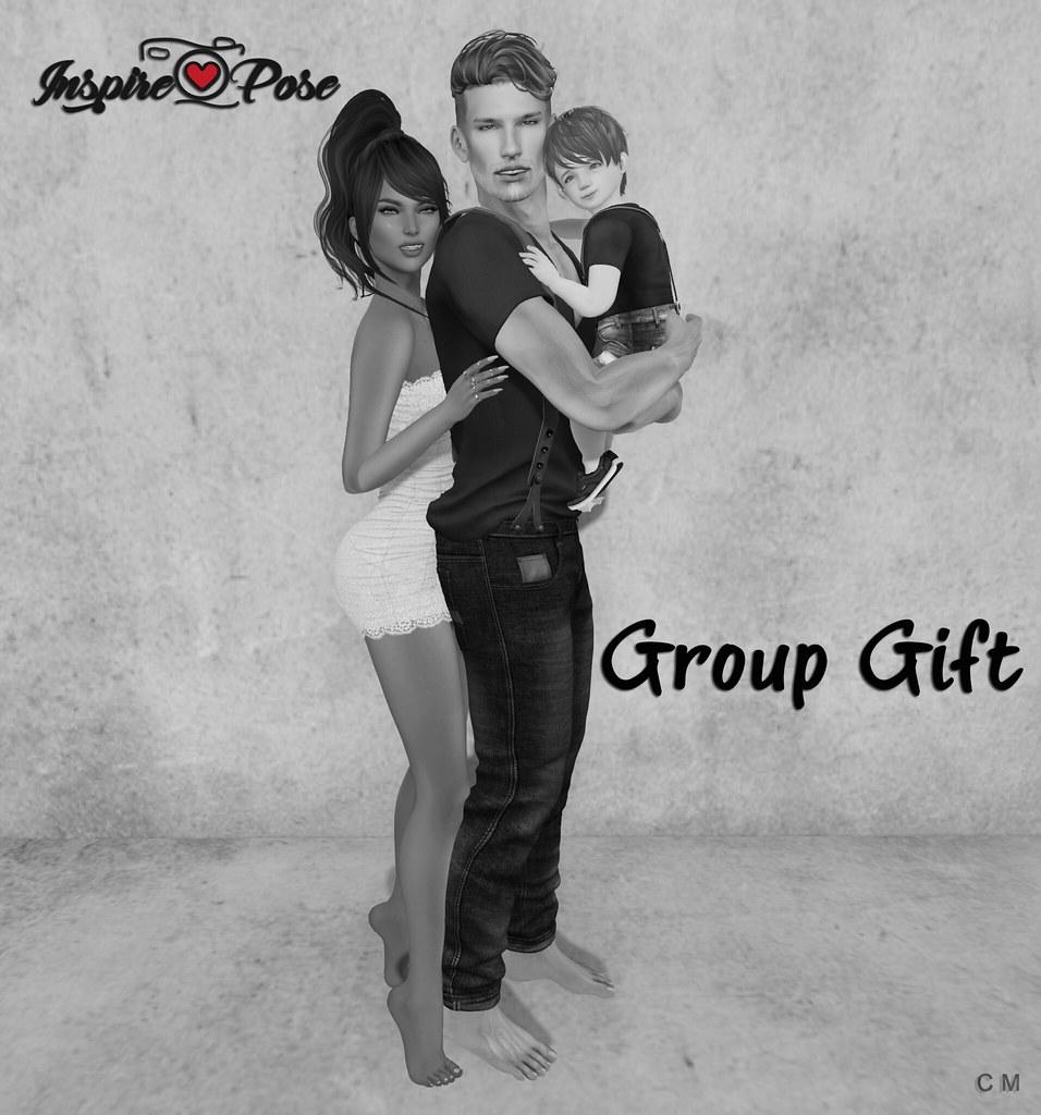 Inspire Pose - Group Gift - SecondLifeHub.com