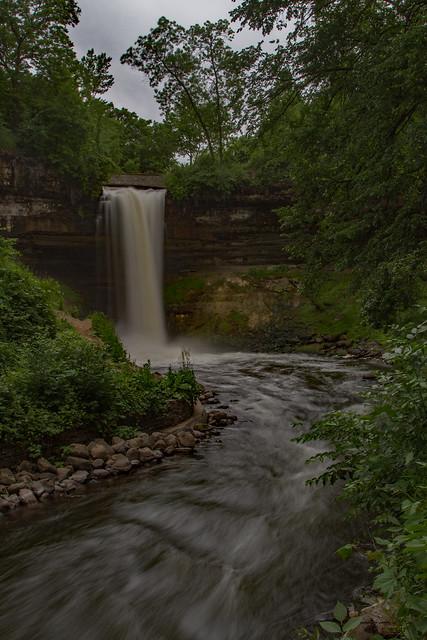 minnehaha falls mn