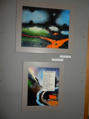 New Language (top) and After the Funeral (bottom), Frieda Hughes, Alternative Values Exhibition, Chichester Cathedral (1)