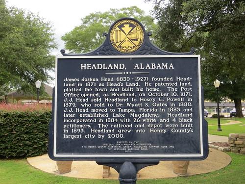 Headland Alabama Marker (HCC)