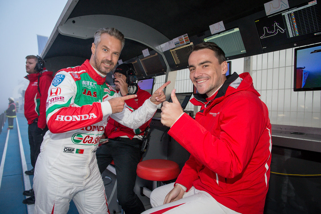 MONTEIRO Tiago (prt) Honda Civic team Castrol Honda WTC ambiance portrait, MICHELISZ Norbert (hun) Honda Civic team Castrol Honda WTC ambiance portrait during the 2017 FIA WTCC World Touring Car Race of Argentina at Termas de Rio Hondo, Argentina on july 14 to 16 - Photo Alexandre Guillaumot / DPPI