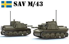 Stormartillerivagn m-43