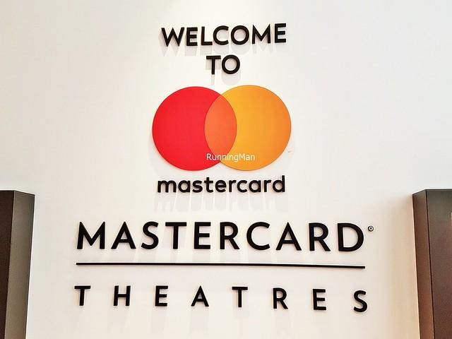 MasterCard Theatres Marina Bay Sands Signage