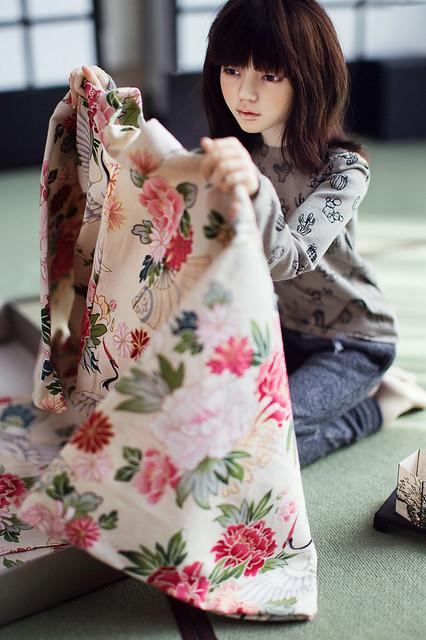 kimono in a box