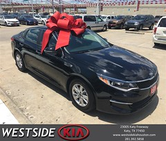 Happy Anniversary to Thomas on your #Kia #Optima from Rick Hall at Westside Kia!