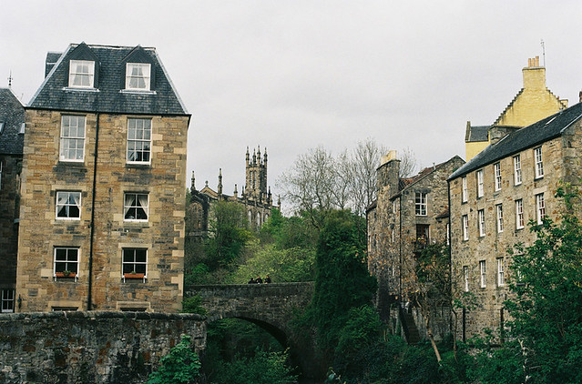 A few things in Edinburgh