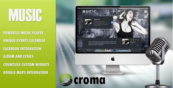 Music v1.7 – Musicians theme & Facebook app