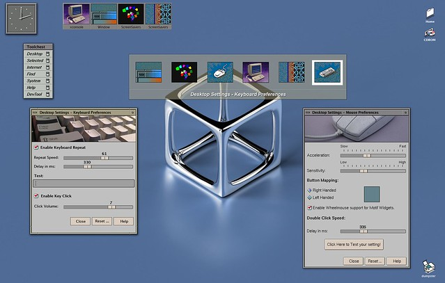 MAXX desktop