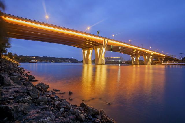Lafayette Bridge (explored!), Canon EOS 5D MARK II, Canon EF 17-35mm f/2.8L