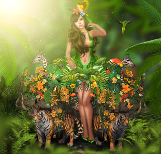 The Jungle Goddess