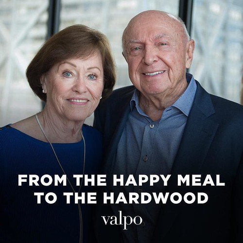 Visit http://bit.ly/ForeverValpo-Schrage to learn how Valpo alumnus Paul D. Schrage '57, '96H elevated the McDonald's brand to a national level — including creating the current Golden Arches logo in 1968 — as he and Jan Sievers '59 Schrage reflect on the