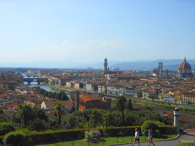 Florence, view from Piazzale Michelangelo
