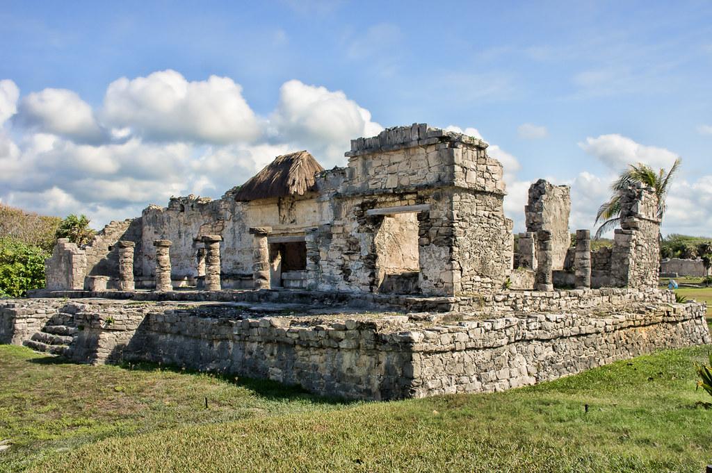 Tulum Maya ruins 3