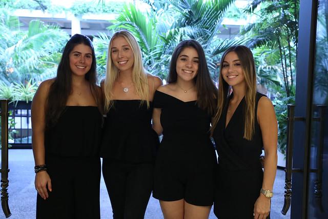 Adri Rovirosa, Emily Blanck, Marina Rubio, & Alexa Perez