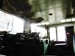 EF65 electric locomotive cab interior at the Kyoto Railway Museum 8527