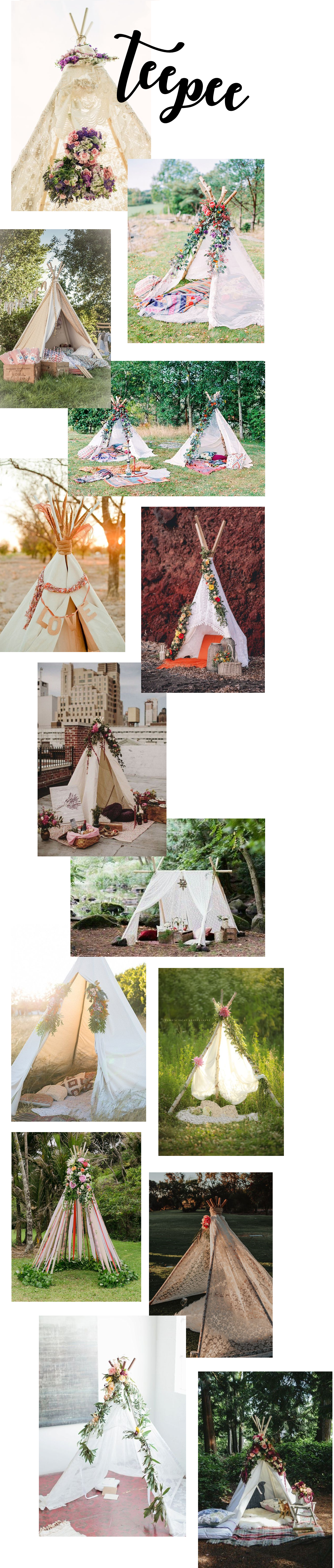 00000 WEDDING teepee