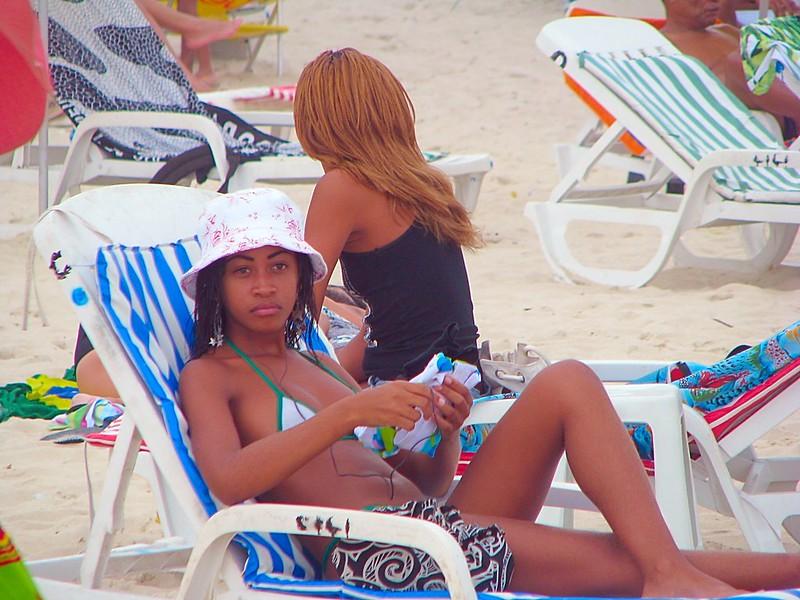 Copacabana beautiful beach babes