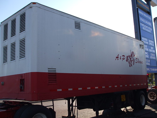 A&P Shows Generator Trailer.