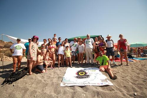 Limpieza de fondos y playa Salobreña