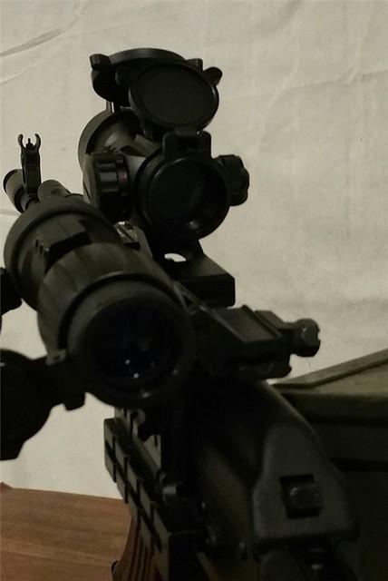 ak47 mount 3x magnifier & red dot5