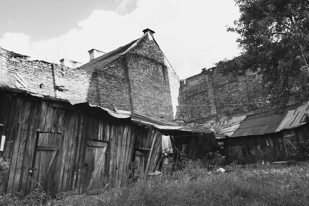 Dans l'ancien quartier juif de Vilnius.