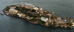 Alcatraz Island Federal Penitentiary Aerial