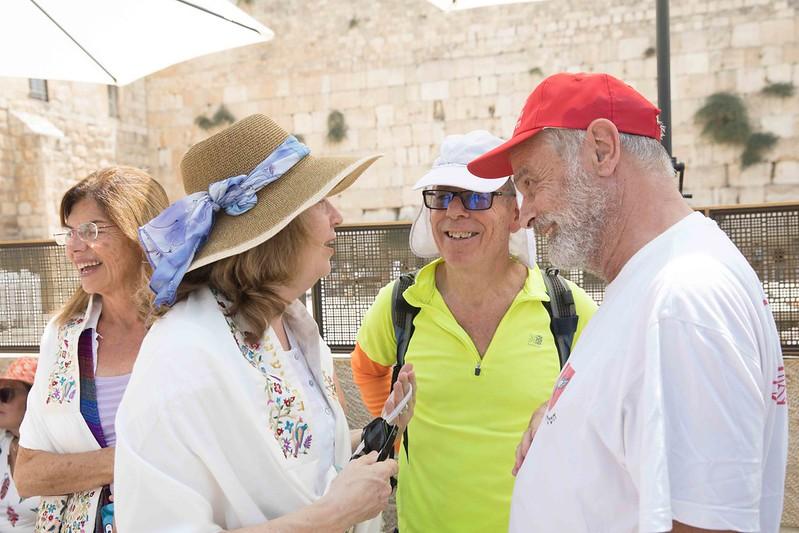 Anat Hoffman, Ami Oron, Nir Berzak