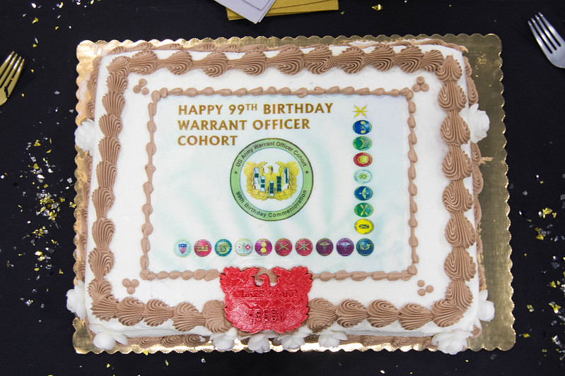 MDARNG Celebrates Warrant Officer Cohort's 99th Birthday