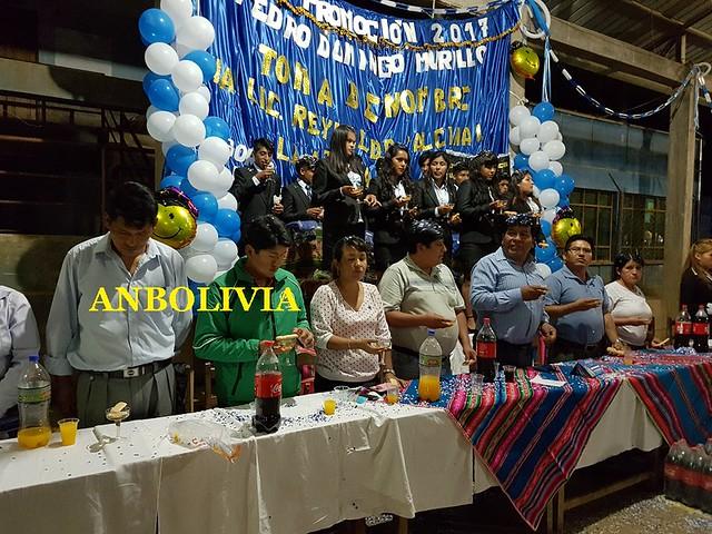 ESTUDIANTES DE LA PROMOCIÓN DEL COLEGIO PEDRO DOMINGO MURILLO RECIBEN LA 'TOMA DE NOMBRE'