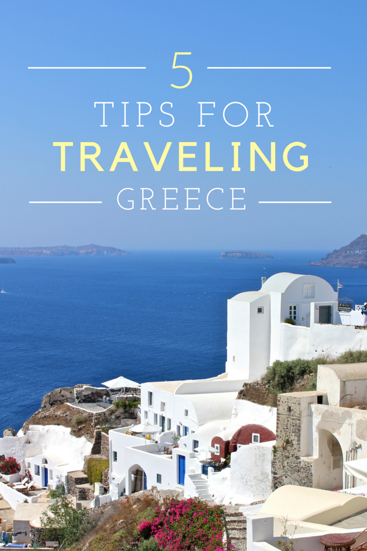 5 Travel Tips for Greece | Adelante