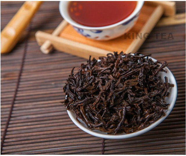 Free Shipping 2011 TAE TEA DaYi Seasons Loose Tea China YunNan MengHai Chinese Puer Puerh Ripe Tea Shu Shou Cha 80g4cases=320g
