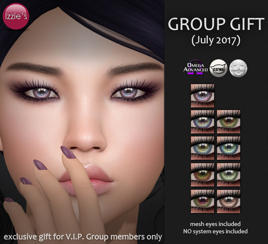 VIP Group Gift July - SecondLifeHub.com