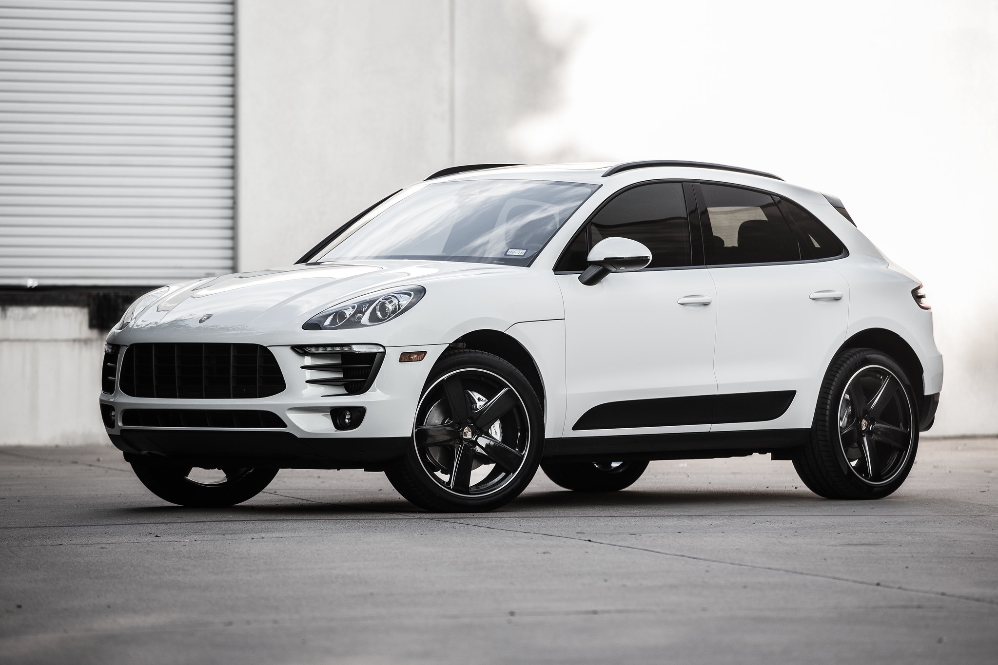 Porsche Macan Forum 21 Inch Sport Classic Wheels In Black
