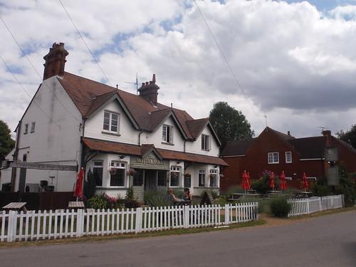 The Motte & Bailey pub, Pirton