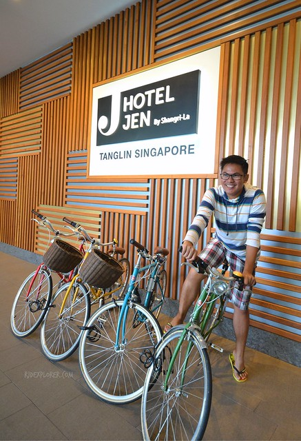 hotel jen tanglin singapore bicycle for free