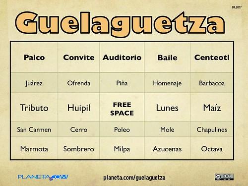 Guelaguetza Loteria 07.2017