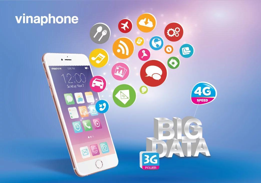 VinaPhone BR-VT ra mắt gói cước DATA khủng rẻ nhất thị trường
