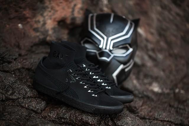 豹神加持!穿上去就能跑得比車還快?!BAIT x Black Panther x PUMA 黑豹主題鞋款!!走一個默默支持英雄的低調風