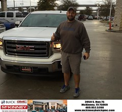 #HappyBirthday to Dru from Joshua Lewis at McKinney Buick GMC!