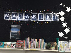 Matariki display, Hornby Library
