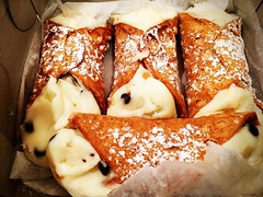 I've been waiting for these #cannoli all summer! Well worth the drive to #hoboken!