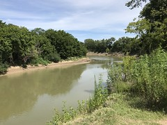 Trinity River, Dallas, Texas.